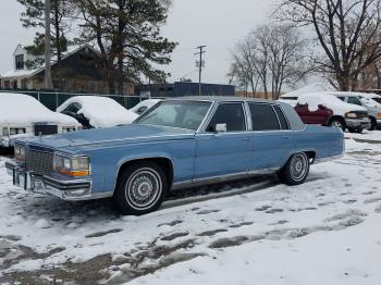 Salvage Cadillac Brougham